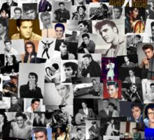 Elvis presley collage Sticker