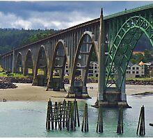 Yakima Bridge...Newport, Ore. Photographic Print