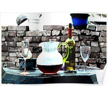 Wine Porch Poster