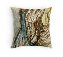 The Water Bearer (Aquarius) Throw Pillow