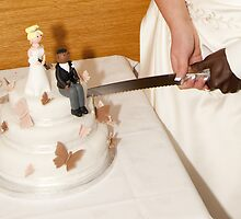 Cutting the Cake: Black & White Unite by DonDavisUK