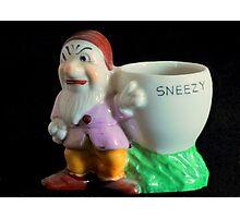 Sneezy Photographic Print