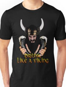 Viking Beer Drinker Unisex T-Shirt