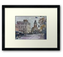 Sturt Street, Ballarat Framed Print