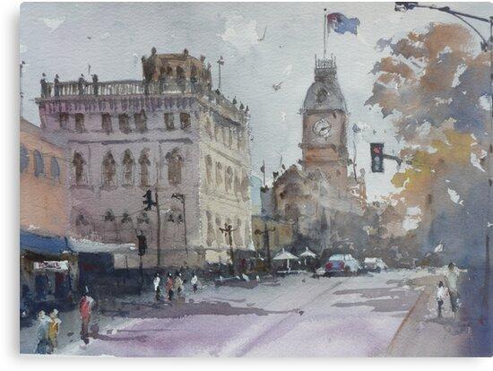 Sturt Street, Ballarat by Mick Kupresanin