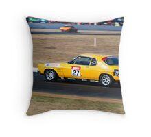 Matt O'Brien - 1972 Holden HQ Monaro Throw Pillow