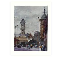 Ballarat railway station Art Print