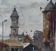 Ballarat railway station by Mick Kupresanin