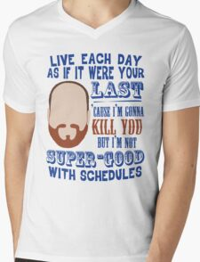 Whedon's Tweet Mens V-Neck T-Shirt