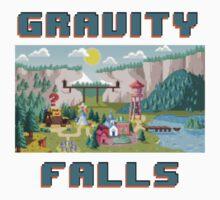 8-Bit Gravity Falls Kids Clothes