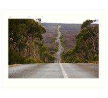 Long & Winding Road Art Print