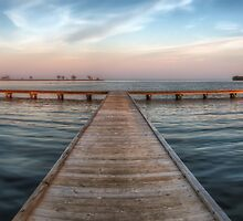 Pier at Millers Bay ~ HDR by Jigsawman