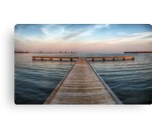 Pier at Millers Bay ~ HDR Canvas Print