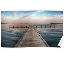 Pier at Millers Bay ~ HDR Poster