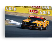 Drew Marget - 1969 Ford Mustang Trans Am Canvas Print