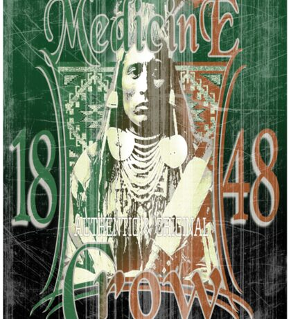 medicine crow Sticker