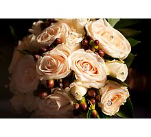The Bridal Bouquet Photographic Print
