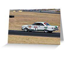 Jim Richards - 1964 Falcon Sprint Greeting Card