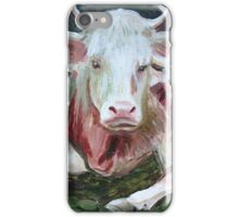 Bovine trio iPhone Case/Skin
