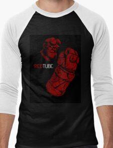 RedTube Men's Baseball ¾ T-Shirt