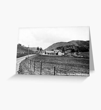 Glenshee School, Perthshire Greeting Card