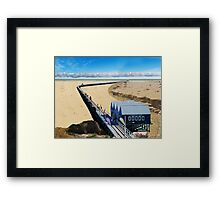 Buselton Jetty ... after climate change! Framed Print