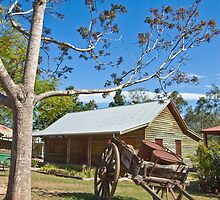 Workers Cottage Old Petrie Town Brisbane Queensland Aus by PhotoJoJo