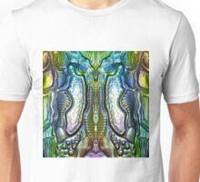 Textural Metallic Unisex T-Shirt