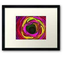 Colorful Psychedelic Framed Print