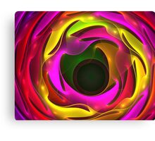 Colorful Psychedelic Canvas Print