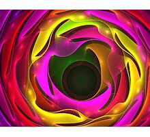 Colorful Psychedelic Photographic Print