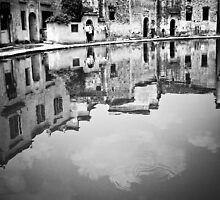 Water Town in Black & White 11 by justinjm