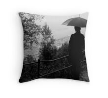 rain in my heart Throw Pillow