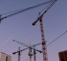 Berliner Skyline by Christian Langenegger
