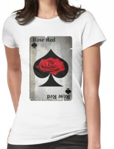 Rose of Spades Womens Fitted T-Shirt