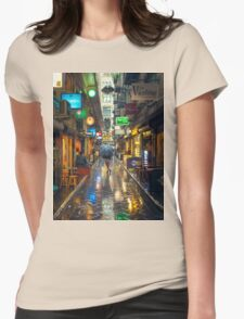 Rainy Day in Bohemian Melbourne Womens T-Shirt