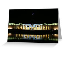 Parliament House Greeting Card