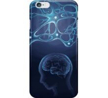The neural network and the mind iPhone Case/Skin