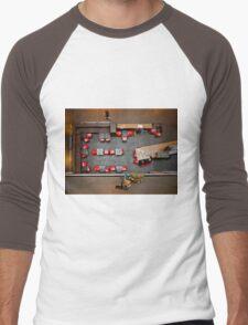 Red Chairs Men's Baseball ¾ T-Shirt