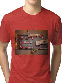 Red Chairs Tri-blend T-Shirt