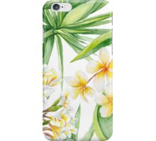 Watercolor Tropical Plants iPhone Case/Skin