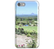 View to Glass House Mountains iPhone Case/Skin
