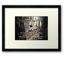 Sweet Solitude Framed Print