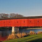The Kissing Bridge - West Montrose, Ontario by jules572