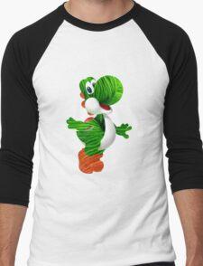 Yarn Yoshi Men's Baseball ¾ T-Shirt
