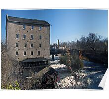 The Old Elora Mill Poster