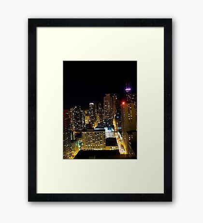 """Gotham City"" Framed Print"