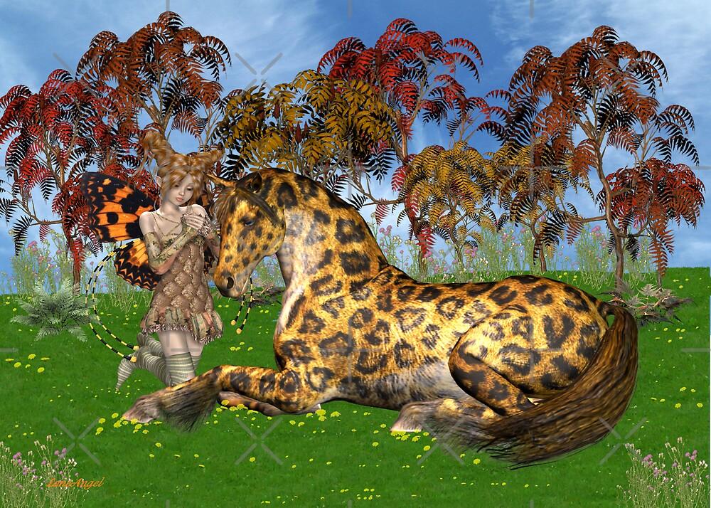 A Mystical Gypsy Horse by LoneAngel