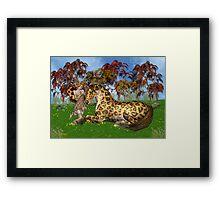 A Mystical Gypsy Horse Framed Print