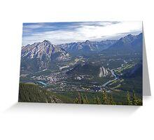 Banff Corridor Greeting Card